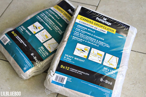 How to Make inexpensive drapes / curtains via Ashley Hackshaw / Lil Blue Boo