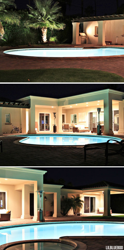 Landscape lighting design / our extreme makeover of yard and house