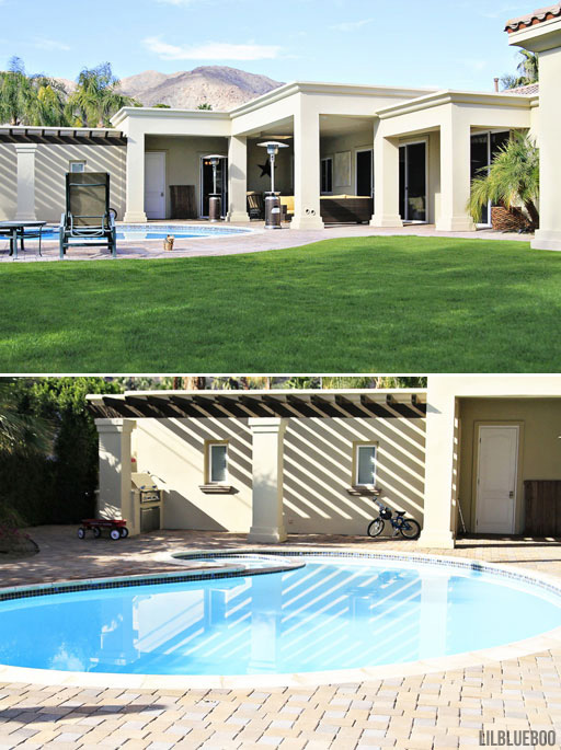 Our extreme home and landscape makeover from start to finish! via Ashley Hackshaw / Lil Blue Boo