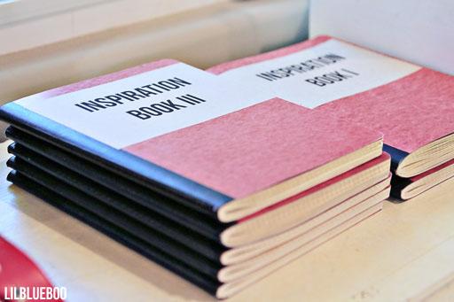 Inspiration Scrapbooks - my tactile form of Pinterest