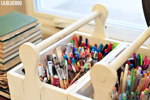 Storing Art supplies