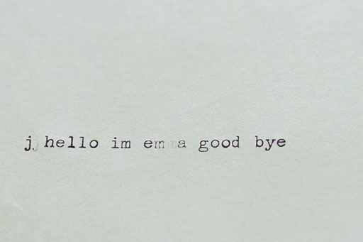 Vintage Typewriter font via Ashley Hackshaw / Lil Blue Boo