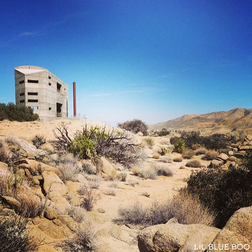Concrete House at Pinyon Crest