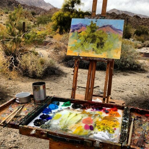 Plein Air Painting Palm Desert