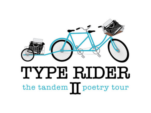Type Rider II the tandem poetry tour
