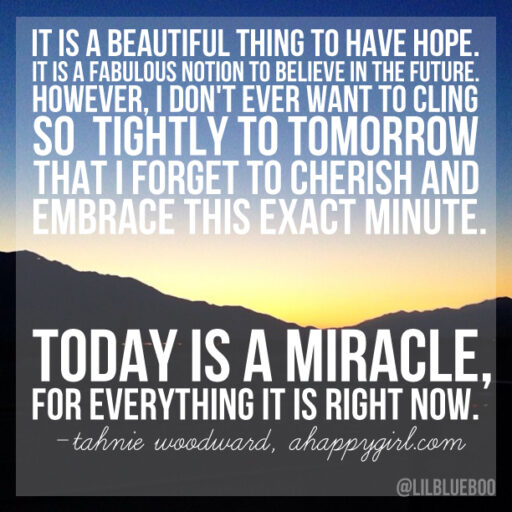It's a beautiful thing to have hope via A Happy Girl #quote