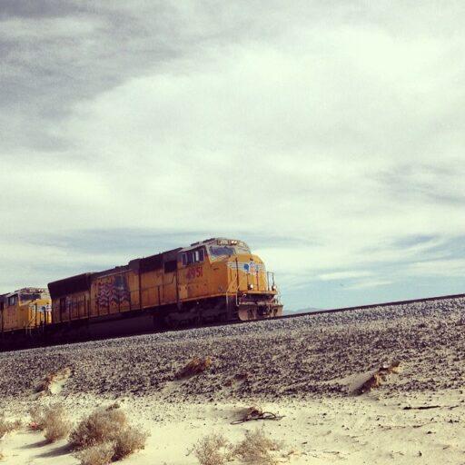 The Train off i-10