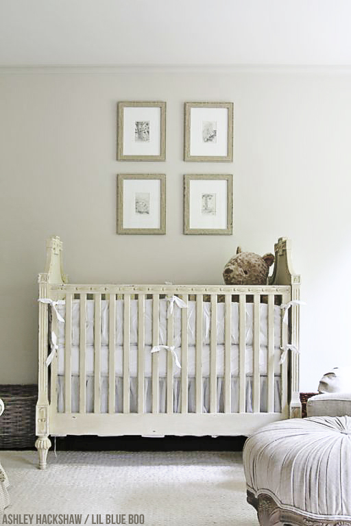 Neutral Nursery Decor - The Roselle Crib Restoration Hardware Baby