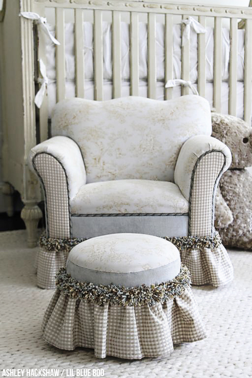 Neutral Nursery Decor Ideas - Restoration Hardware Inspired