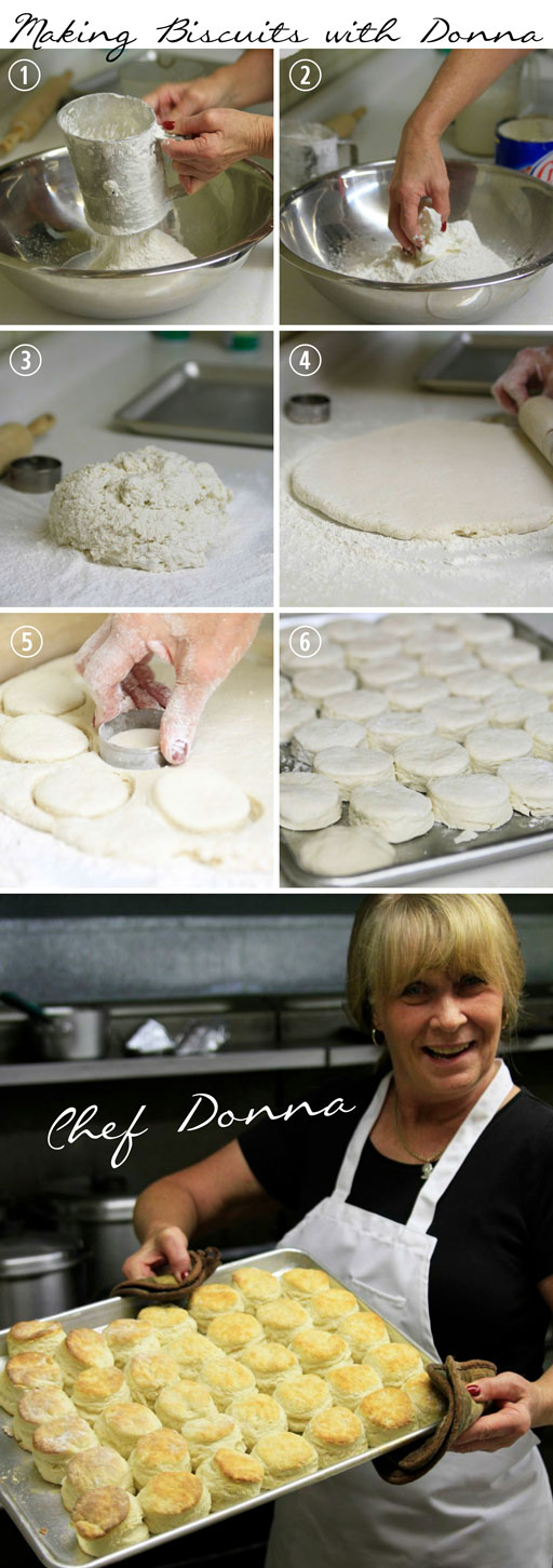 How to Make Buttermilk Biscuits - Hemlock Inn's Recipe plus Donna's stories!