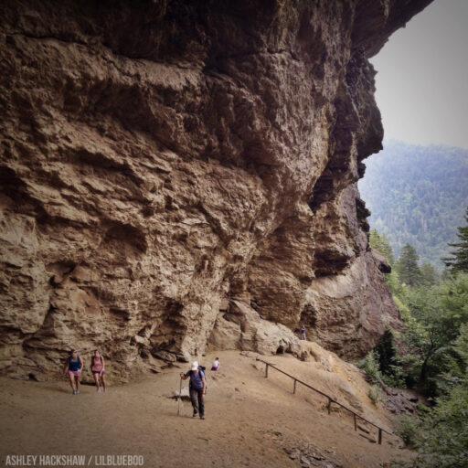 Alum Cave Bluffs - Halfway Mt. LeConte - Le Conte Lodge