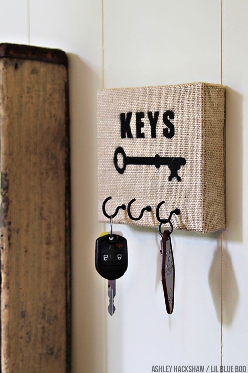 DIY Key Holder Using Michaels Raw Bar Materials