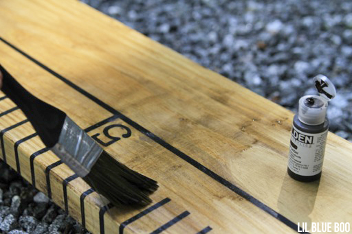 How to paint rustic wood