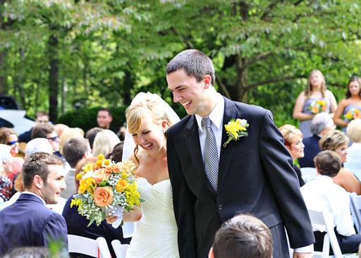 September mountain wedding bryson city Hemlock Inn
