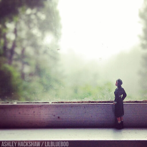 miniature figure photography - window #miniature