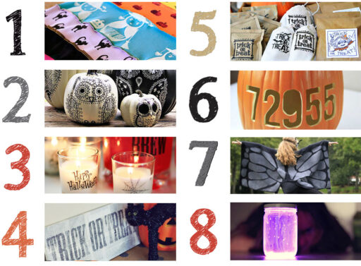 Halloween project and decor ideas DIY