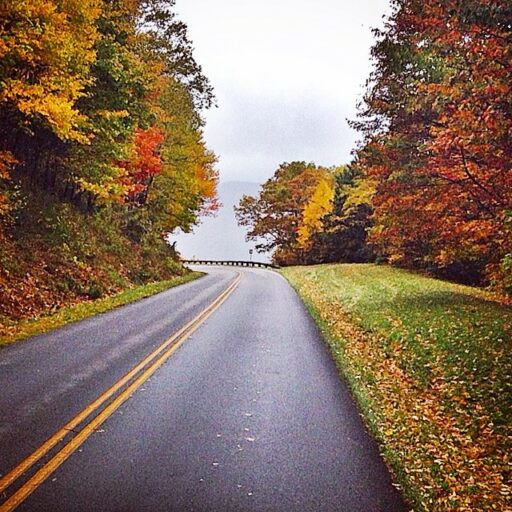 Blue Ridge Parkway Fall Colors Asheville to Cherokee