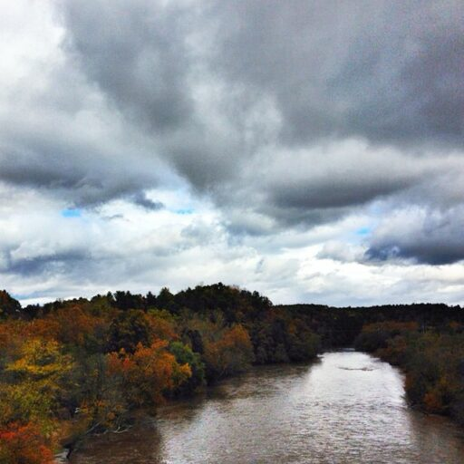 Blue Ridge Parkway in Asheville - The French Broad River
