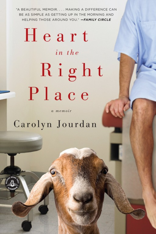 Memoir recommended reading: Heart in the Right Place by Carolyn Jourdan
