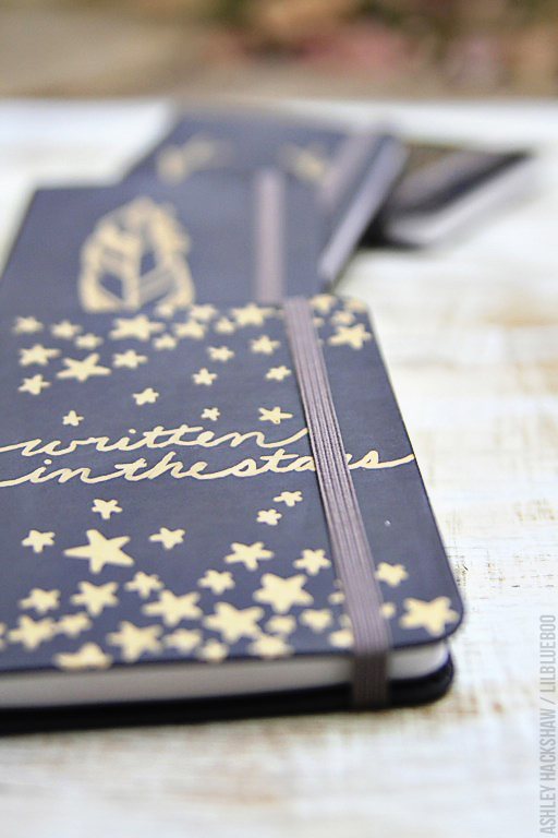 Written in the Stars DIY Journal - Sharpie project idea