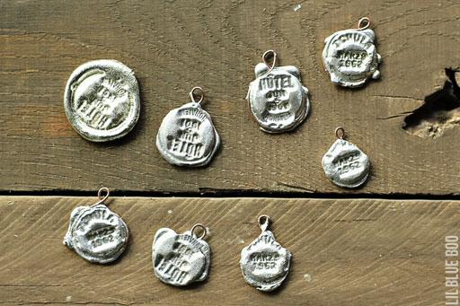 Bernzomatic torch projects: jewelry pendants