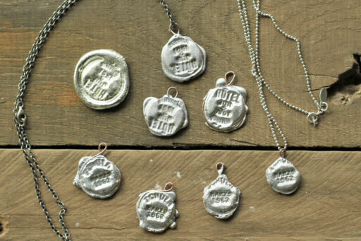 DIY Silver Stamped Jewelry