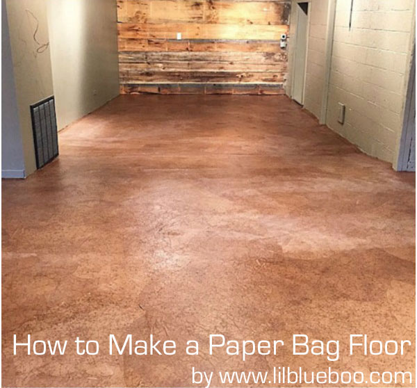 How to make a paper bag floor diy instructions how to make a brown paper bag floor tutorial solutioingenieria Images