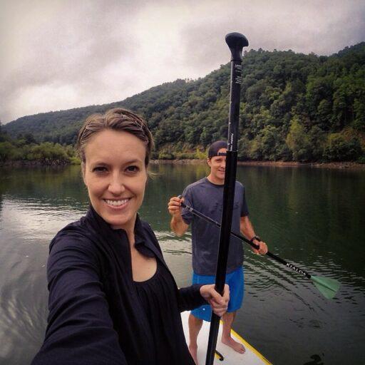 paddleboardinglakefontana