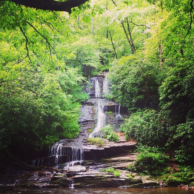 Deep Creek Campground And Waterfalls