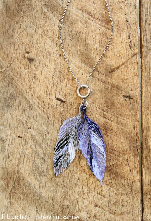 How to Make Feather Pendants