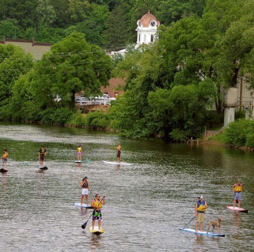 Stand Up Paddleboard Rentals Bryson City