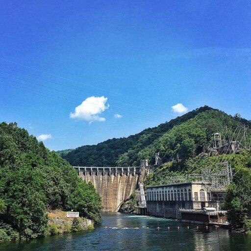 Cheoah Dam also The Fugitive Dam