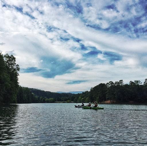 Kayak Rentals at Fontana Lake Bryson City