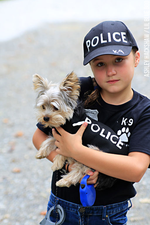 Diy police costume and k 9 dog halloween costume for 9 year old boy halloween costume ideas