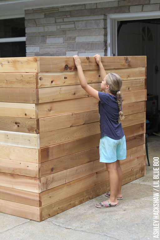 where to buy cedar or hardwood garden bed wood