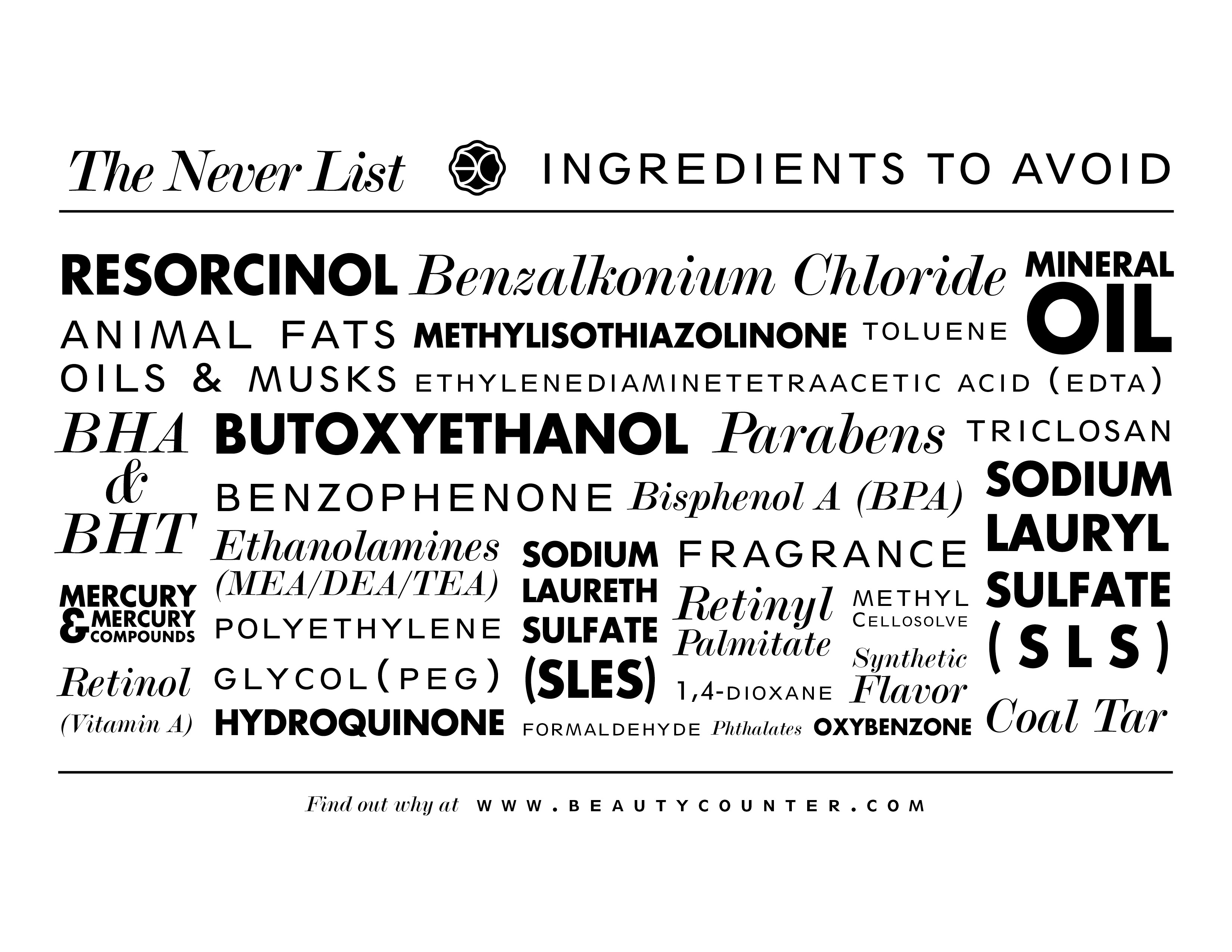 The Never List: Things You Should Never Use On Your Skin