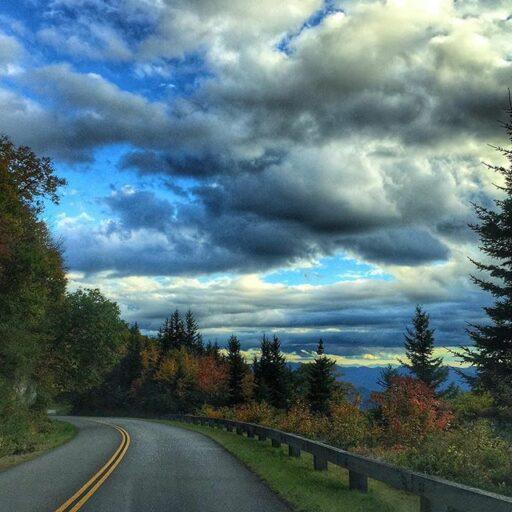 Blue Ridge Parkway near Waynesville - Waterrock Knob