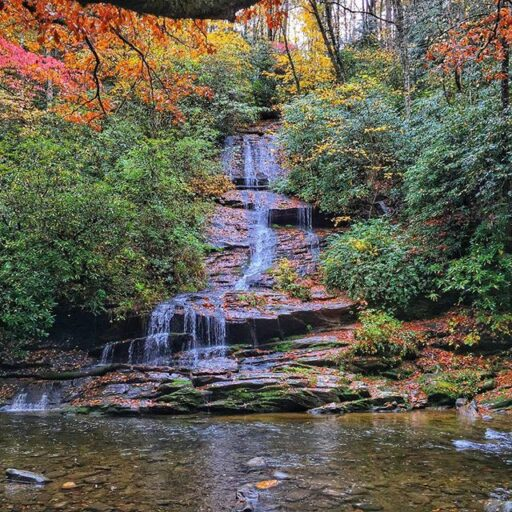 Deep Creek in the Smoky Mountains National Park