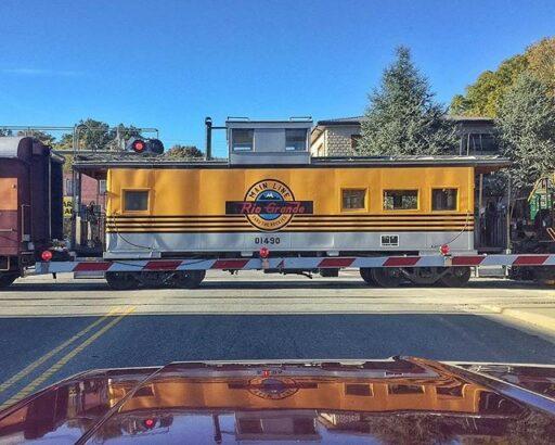 Rio Grande Train Caboose - Great Smoky Mountains Railroad