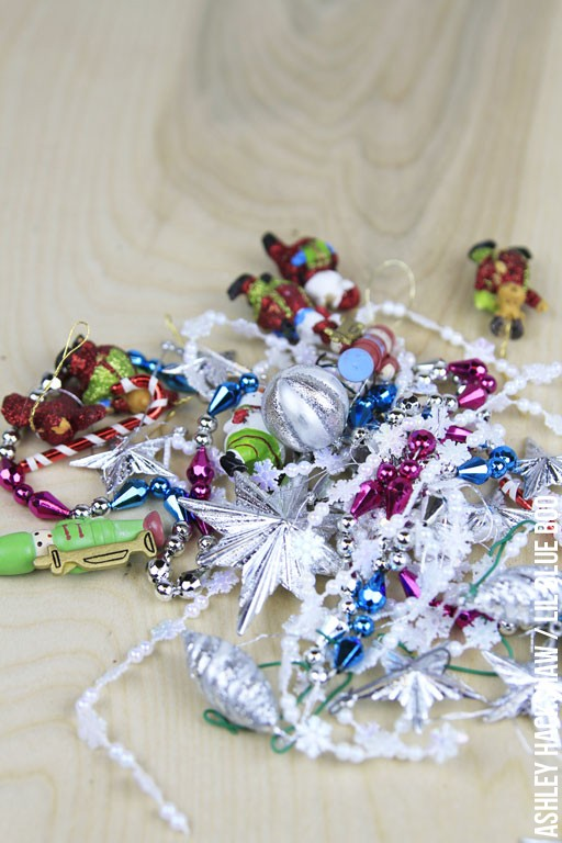 Ways to recycle and use old holiday ornaments for something new