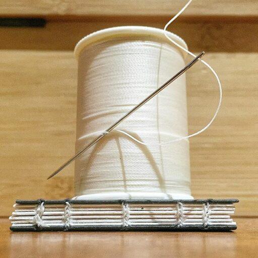 How to make book binding - book binding sewing signatures