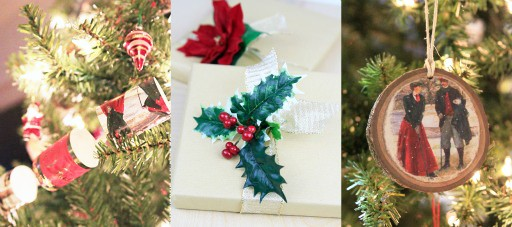 Michaels Makers Holiday Hacks - refreshing old decor
