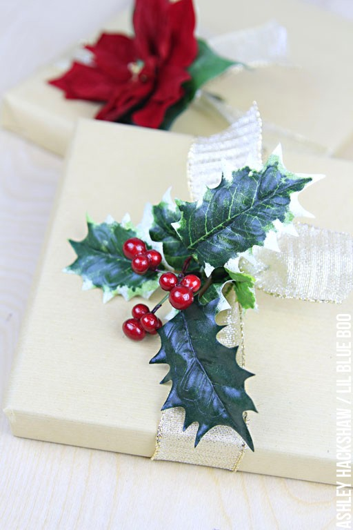 Using Old Holiday Garland