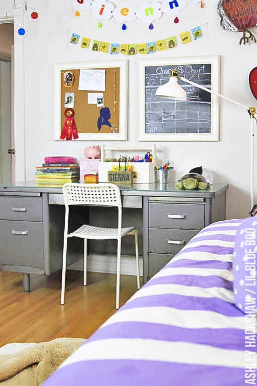Creating a unique space - Girls Room Decor Ideas - Our Eclectic Style #girlsrooms