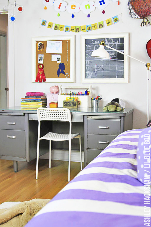 Girls room decor ideas our eclectic style - Girls room decor ideas ...