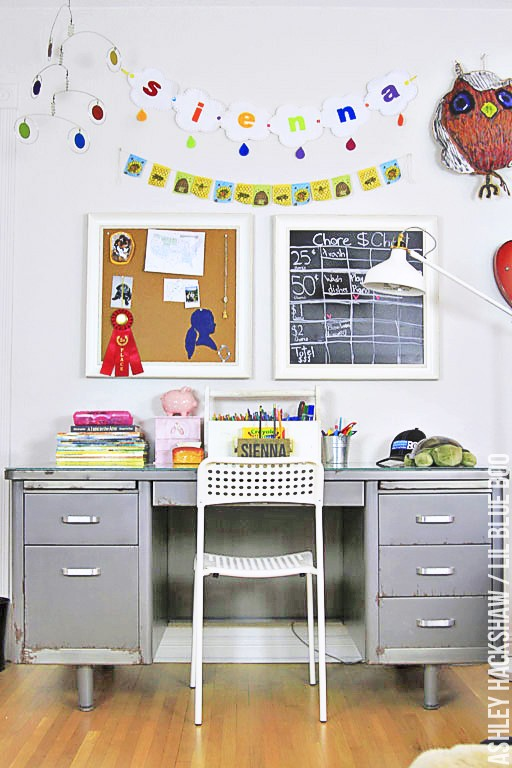 Ideas for girls room decor - wall decor and banners