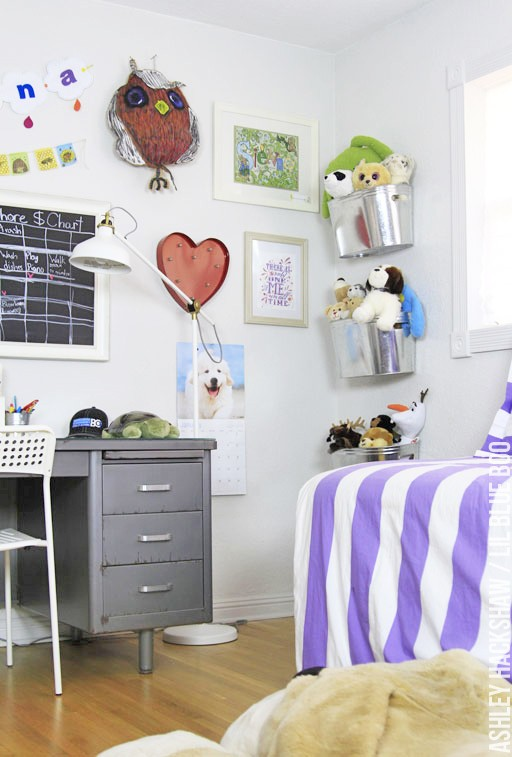 How to organize and decorate a girls room