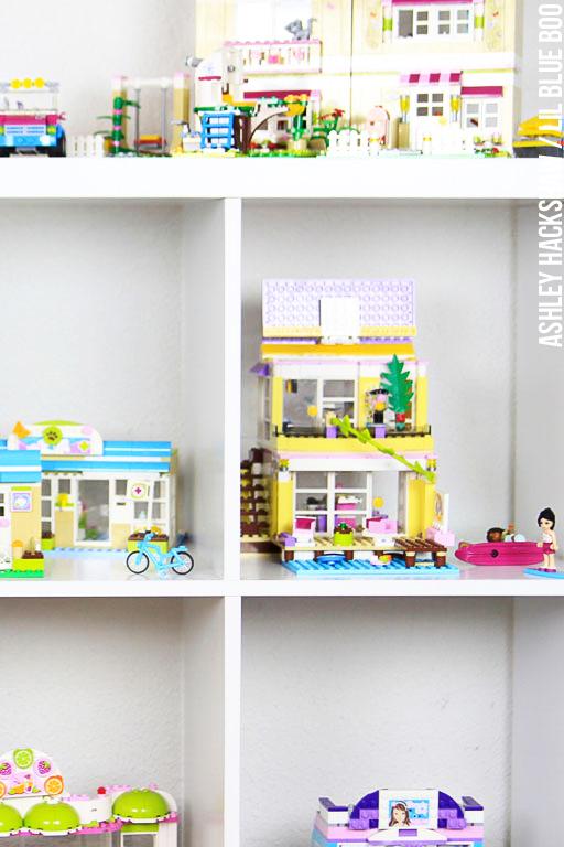 Lego storage and display ideas ashley hackshaw lil - Lego kinderzimmer ...
