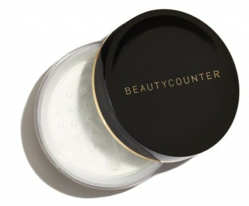 Safe mattifying powder - use to matte coconut oil on the face