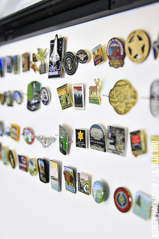 How to display pins and patches from trips - storing and displaying trip memories
